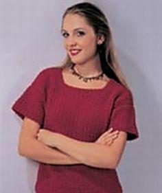 Tee Top Sweater pattern by Denise Black