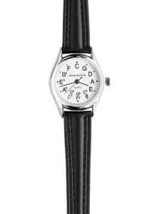Ladies Circle of Fifths Watch in Silver