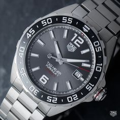 """11k Likes, 30 Comments - TAG Heuer (@tagheuer) on Instagram: """"From the polished steel case to the anthracite dial, the TAG Heuer Formula 1 Calibre 5 is…"""""""