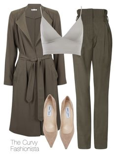 Untitled #629 by thecurvyfashionista on Polyvore featuring polyvore fashion style Jimmy Choo Kookaï