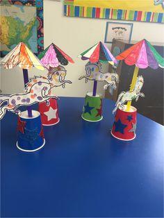 Horse under the big top- Rafik Makhloufi - Anaokulu Dünyam Circus Crafts Preschool, Circus Theme Crafts, Carnival Crafts, Toddler Crafts, Crafts For Kids, Arts And Crafts, Paper Crafts, Preschool Music, Carnival Activities