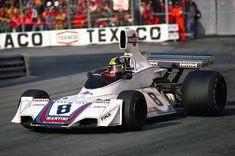 Carlos Pace, Brabham BT44B, Martini Racing, Monaco Grand Prix, 1975