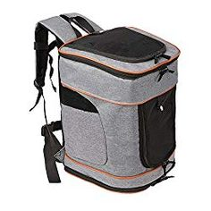 SERWALL Comfort Pet Carrier Backpack for Small Cats and Dogs   Ventilated  Design, Safety Strap 2a4d944366