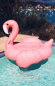 Flamingo Luxe Float Inflatable - Pink