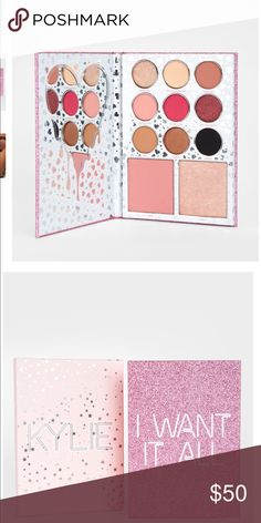 The birthday Collection I WANT IT ALL PALETEE Brand new, 100% authentic, I got it as a gift but i'm not into it. Kylie Cosmetics Makeup