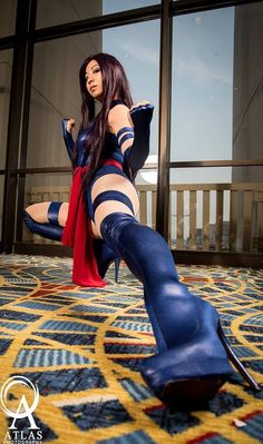 "ladies-of-cosplay: ""Psylocke Photographed by Atlas Photography """