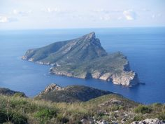 Dragonera - View from Sant Elm, a small resort in the extreme southwest of Mallorca.