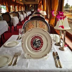 #TBT Commemorative plate from our inaugural run over 25 years ago. #throwbackthursday  #WineTrain #NapaValleyWineTrain #NapaWineTrain #NapaTrain #Napa #NapaValley #California #train #trains #railroad #railway #luxury #vintage #antique #Pullman #VisitCA #VisitCalifornia #VisitNapaValley #travel #vacation #getaway #wanderlust #WineCountry #travelbreak by winetrain