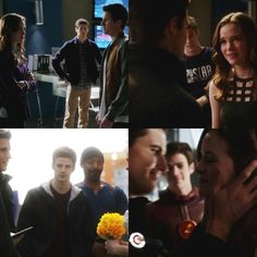 BARRY IS IN THE MIDDLE, RIGHT BETWEEN THEM EACH AND EVERY TIME. BECAUSE RONNIE AND CAITLIN WERE NEVER MEANT TO BE!