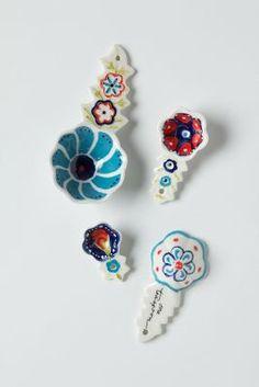 Handpainted Florie Measuring Spoons