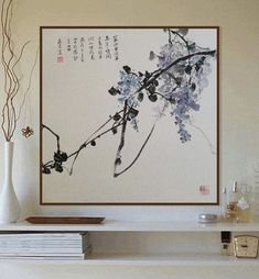 blue Glyzinien Chinese and Japanese Ink Paintings Office and Home Decor Wall Art rain blue Glyzinien Chinese and Japanese Ink Paintings Office and Home Decor Wall Art, rain blue Glyzinien Chinese and Japanese Ink Paintings Office and Home Decor Wall Art, Japanese Ink Painting, Japan Painting, Chinese Painting, Chinese Art, Japanese Art, Edmund Dulac, Tropical Interior, Home Decor Wall Art, Ink Paintings