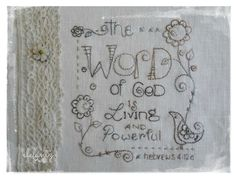 """Living & Powerful"" a free pattern by Jenny of Elefantz"