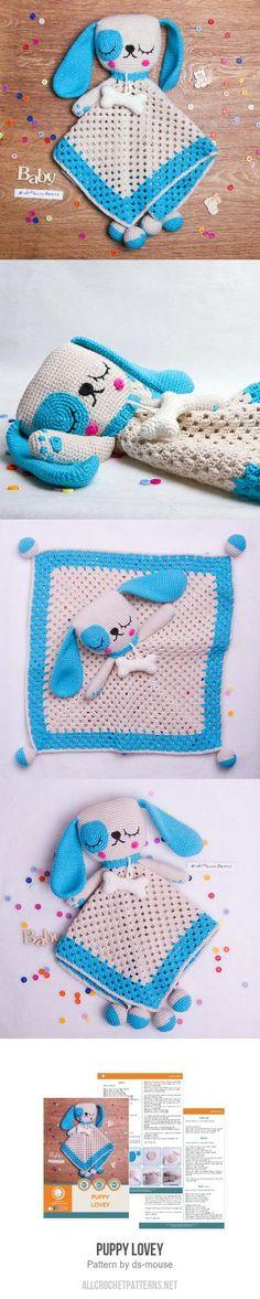 Puppy Lovey crochet pattern