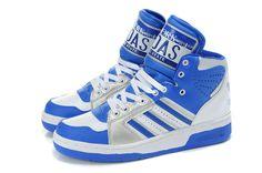 Jeremy Scott x Adidas JS License Plate Blue White Sliver