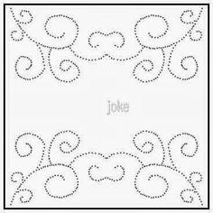 bij de kanten een patroon / patroon   Jokealmere.jouwweb.nl