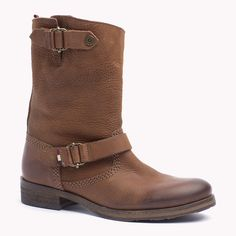 Tommy Hilfiger Leather Buckle Boot - cognac (Brown) - Tommy Hilfiger Boots - main image