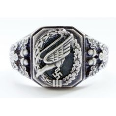 German WWII Luftwaffe Paratroopers ring