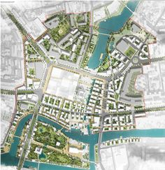 landscape architecture masterplan Masterplan - urban regeneration - Place at the International Urban Design Competition of Kaliningrad Heart of City. Off-The-Grid / Devillers / Wall / Architecture Le Corbusier Architecture, Masterplan Architecture, Architecture Logo, Landscape Architecture Design, Sustainable Architecture, Architecture Diagrams, Architecture Site Plan, Landscape Designs, Urban Design Diagram