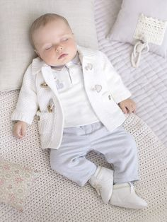 Shop luxurious unisex baby clothing with The Little White Company. Cute Baby Boy, Cute Little Baby, Cute Babies, Baby Kids, Fashion Kids, Baby Boy Fashion, Baby Boy Outfits, Kids Outfits, Cute Baby Wallpaper