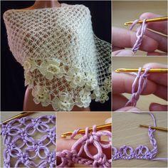 crochet patrón de f