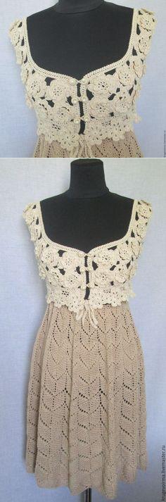 Купить Платье-трансформер вязаное - Платье нарядное, платье вязаное, вязаное платье, вязаное крючком