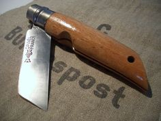 """Modified Opinel #12 """"Fishtail"""""""