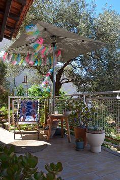 Sur ma terrasse / Photo Lejardindeclaire / Parasol Solero
