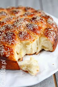 Healthy Bread Recipes, Cooking Recipes, Baguette Bread, Savory Scones, Homemade Rolls, Bread Bun, Sweets Cake, Bread And Pastries, Polish Recipes