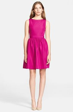 Ted Baker London Stretch Woven Fit & Flare Dress #bridesmaid