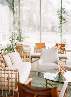 Romantic, whimsical, lush... this February wedding on a lake in Texas is chock full of our favorite things. No surprise they all involve flowers! A winding flower aisle ceremony just off the water, a pink checkered dance floor canopied by a fresh floral ceiling, mid-century modern lounges with rattan chairs, geometric bars and velvet upholstery... we should just let you see it with your own eyes, yes? Forest Wedding Reception, Tent Reception, Rooftop Wedding, Luxe Wedding, Ballroom Wedding, Wedding Reception Decorations, Wedding Ideas, Wedding Locations, Wedding Vendors
