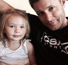 JJ!>> looks like someone's got her dad's eyes