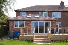 House Extension - single storey rear extension in Timperley Altrincham Cheshire House Extension Design, Extension Designs, Roof Extension, Extension Plans, Architectural Technologist, Conservatory Extension, 1960s House, Kitchen Diner Extension, Two Storey House