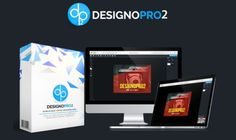 DesignoPro2 Graphics Design App Software - Powerful, Simple Software and Proven HIT to Give You the Ability to Edit Any Image or Graphic, Including Logos, Banners and Box Covers with 200 Brand New Pre-Made Templates and You Can Upload Your Own Graphics