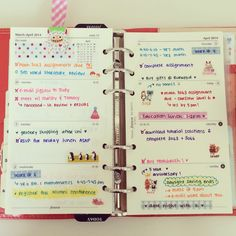 The Life & Musings of Annie Rose ♡: Filofax