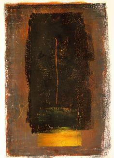 Monotype by Joanna Ingarden-mouly