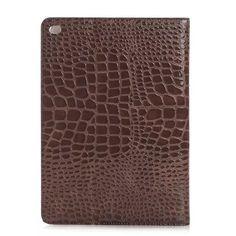 Modische Krokodil Muster Lederhülle für iPad Air 2 - spitzekarte.com