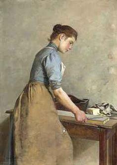 Charles Spencelayh was a painter of genre scenes and portraits. Caspar David Friedrich, English Artists, British Artists, Portraits, National Art, Working People, Victorian Era, Edwardian Era, Art Market