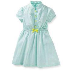 Amazon.com  Carter s Little Girls  Cotton Print Dress  Clothing 8da8aaaf3