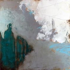 Sea of Something, 2013  mixed media on panel  48 x 48 inches