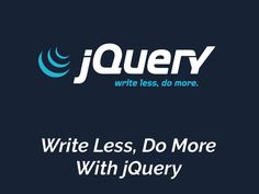 jQuery Basics - The jQuery library makes it easy to manipulate a page of HTML after it's displayed by the browser. It also provides tools that help you listen for a user to interact with your page, tools that help you create animations in your page, and tools that let you communicate with a server without reloading the page. We'll get to those in a bit. First, let's look at some jQuery basics, and at how we can use jQuery to perform its core functionality: getting some elements and doing…
