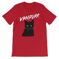 Vampire Cat - Halloween Costumes Men's T-Shirt - Funny Scary Cats Tee