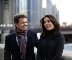 The Crown Prince Frederik and Crown Princess Mary of Denmark take Guided Architectural Tour of Chicago...