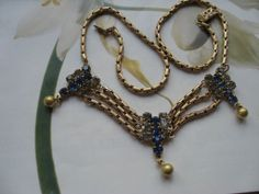Older Vintage Festoon Necklace