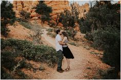 Libbey + Trent Bryce Canyon Engagements – India Earl Photography