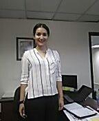 Blusa fresca, conbinacion blanco y negro