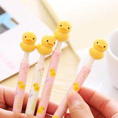 https://www.aliexpress.com/item/Korea-Stationery-Cartoon-Little-Yellow-Duck-Pressing-Type-Ballpoint-Pen-Promotional-Gift-Stationery-Students-Prize/1695259195.html?spm=2114.01010108.3.76.BBDBUT