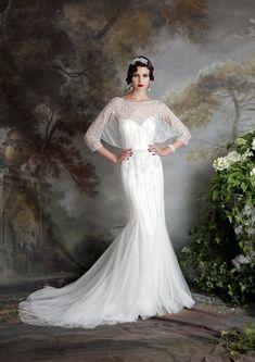 Eliza-Jane-Howell Art Deco Inspired Wedding Dresses #weddingdress #Wedding
