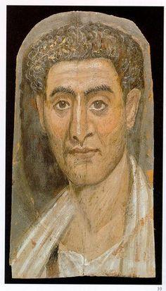 The Mummy of Demetrius reading ΔΗΜΗΤΡΙС LΝΘ. The Brooklyn Museum.