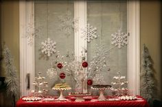 "Last weekend I decorated for a ""ugly"" Christmas sweater party. I was in charge of the decor, desserts,  party favors, and th..."