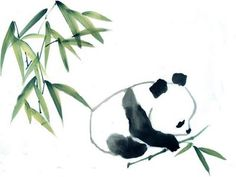 baby panda and bamboo – Cindy Pon